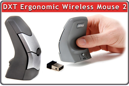 DXT Ergonomic Mouse 2 Wireless