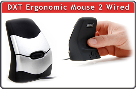 DXT Ergonomic Mouse 2 Wired